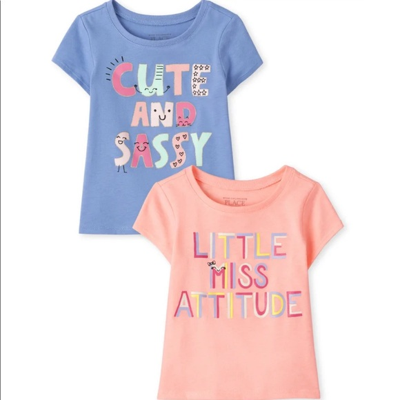 The Children's Place • 2 Pack Graphic Tee